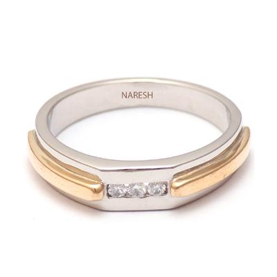 Personalized Platinum Gold Diamond Ring, platinum diamond rings