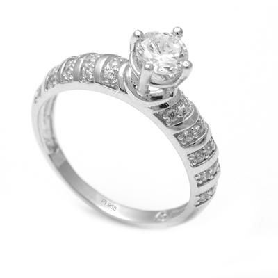Platinum Diamond Wedding Rings For Women, love band ring
