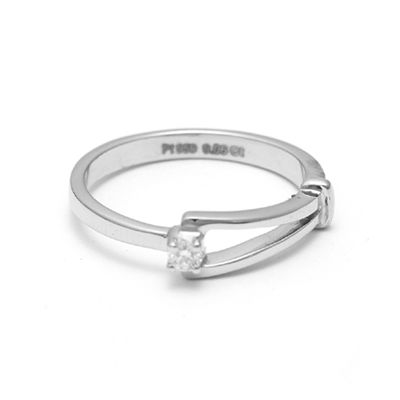 Platinum Finger Rings For Her WIth Name, platinum love bands price