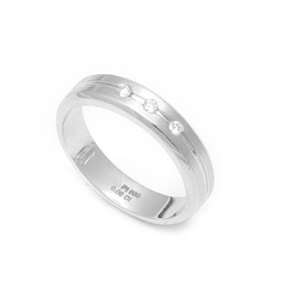 Two Layered Diamond Platinum Ring, platinum engagement rings