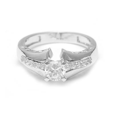 Unique Platinum Diamond Rings For Women (2)
