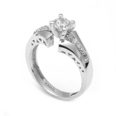 Unique Platinum Diamond Rings For Women (3)