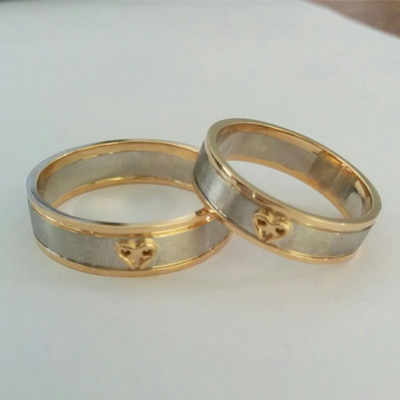 Unique Platinum and Gold Fusion Rings (4)