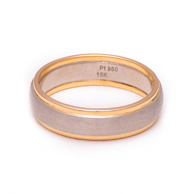 Unique Men Platinum Gold Ring, platinum rings for couples