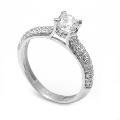 Women Platinum Diamond Engagement Ring, platinum bands for him