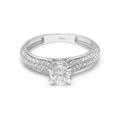 1 Gram Platinum Ring Platinum Band Ring