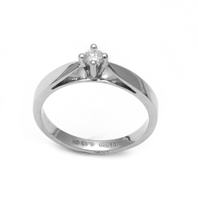 Women Solitaire Diamond Platinum Ring, mens platinum wedding rings