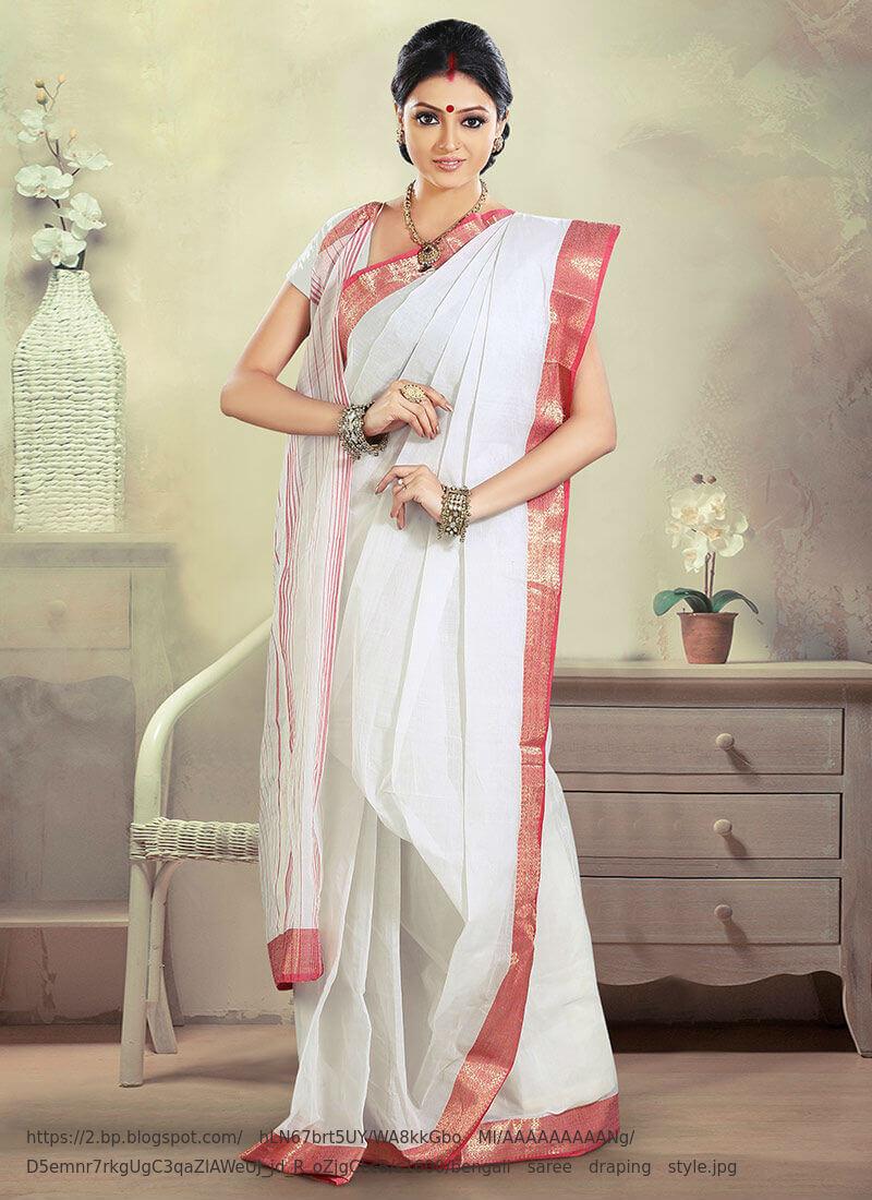 bengali-saree-draping-style