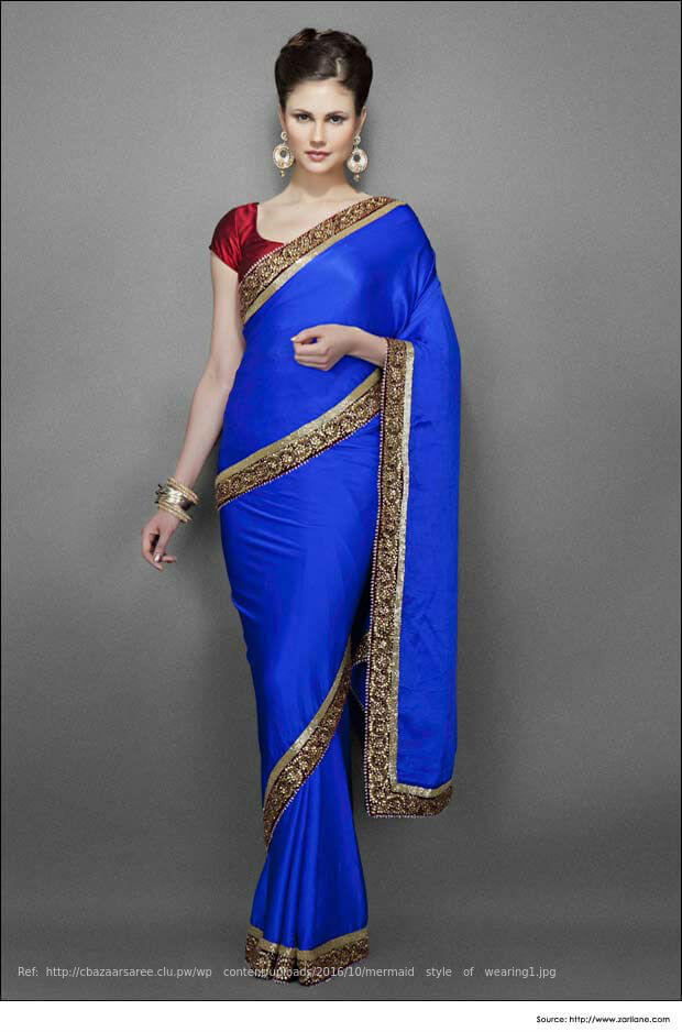 How To Wear Wedding Silk Saree Drape A Pattu