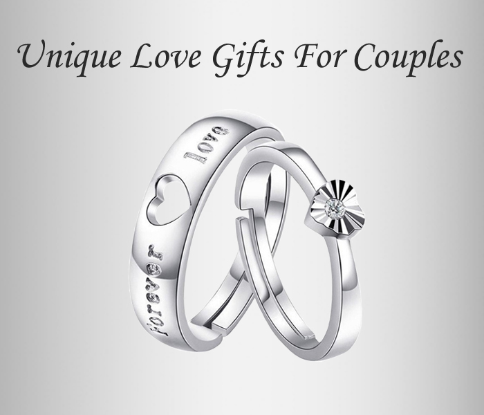 Couple Rings Pure Silver Rings For Couples