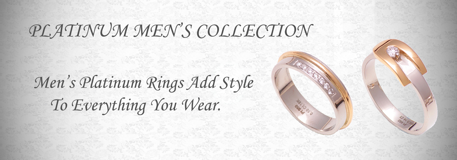 Platinum Fusion Wedding Ring Collection, platinum band ring
