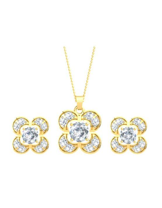 Elegant Changeable gemstone Pendant