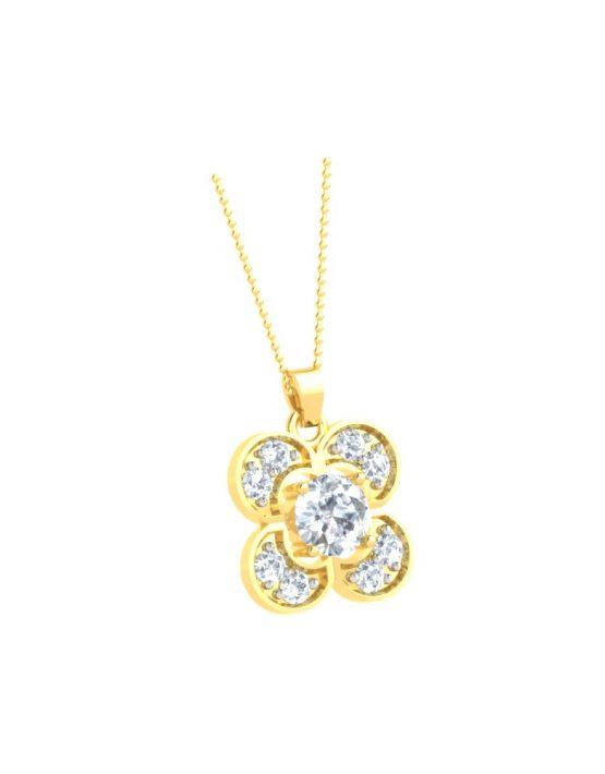 Elegant Changeable gemstone Pendant 3