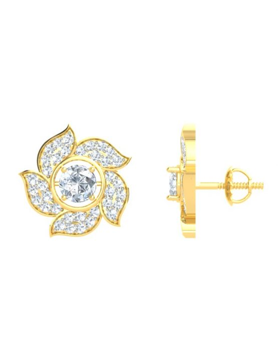 Floral Interchangeable Gemstone Pendant Set