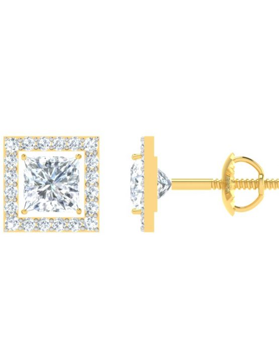 Square Shape Gemstone Pendant