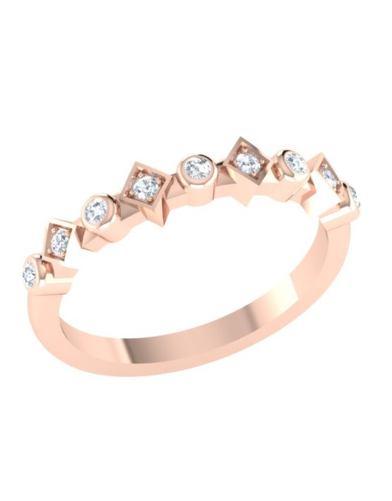 how to stack rings with engagement ring, how to wear midi rings, how to wear multiple diamond rings