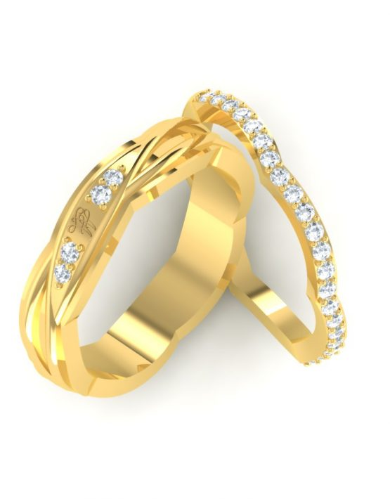 cool promise rings for couples, couple band rings, couple band rings gold