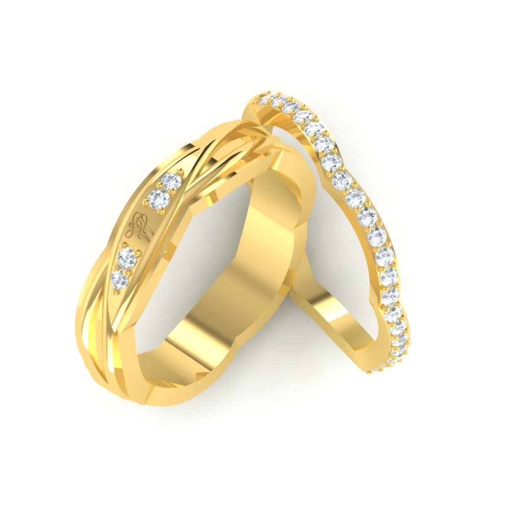 couples pin women rings band bands diamond pinterest couple