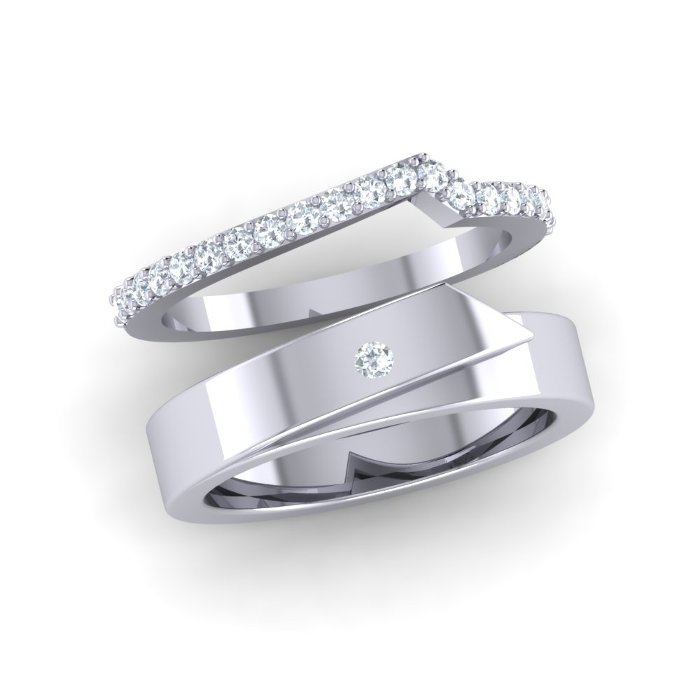 bands partita products engraved diamond hand
