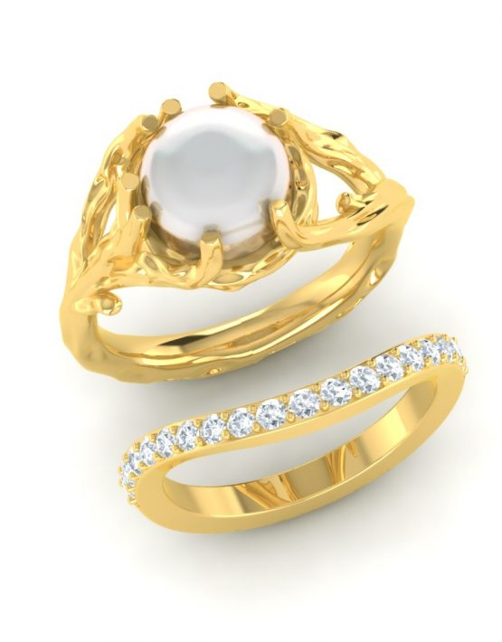 couple promise rings set, couple ring design, couple ring for sale