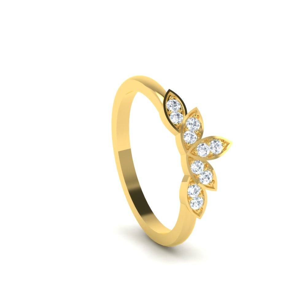 solitare princess cathedral cut r solitaire w band ring diamond product engagement wide bands b
