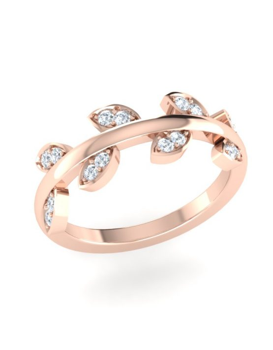 14k gold stacking rings, 3 stacked diamond ring, a promise ring