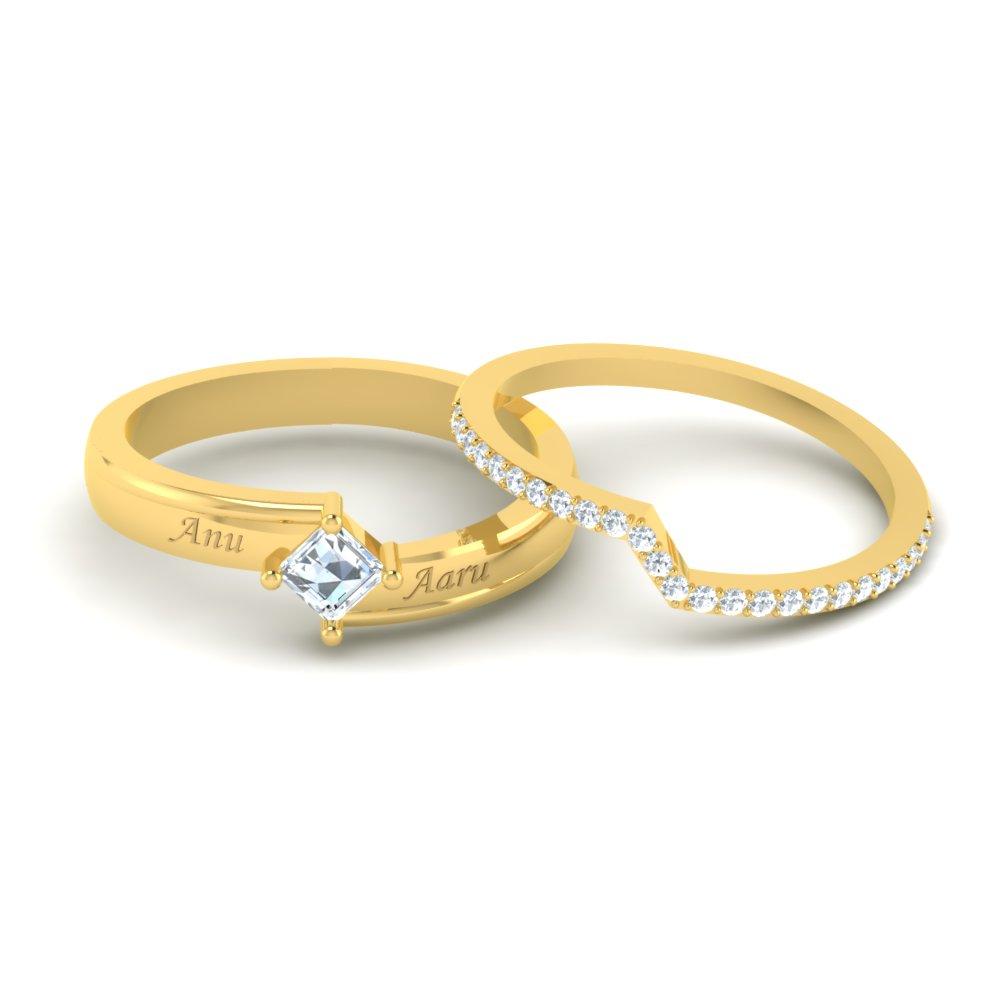 Womens Designer Stackable Ring Set