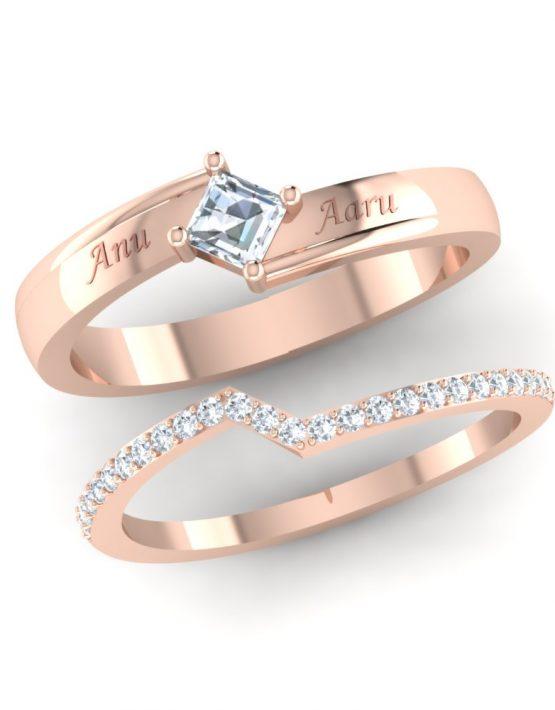 partner rings, perfect promise rings, personalised promise rings