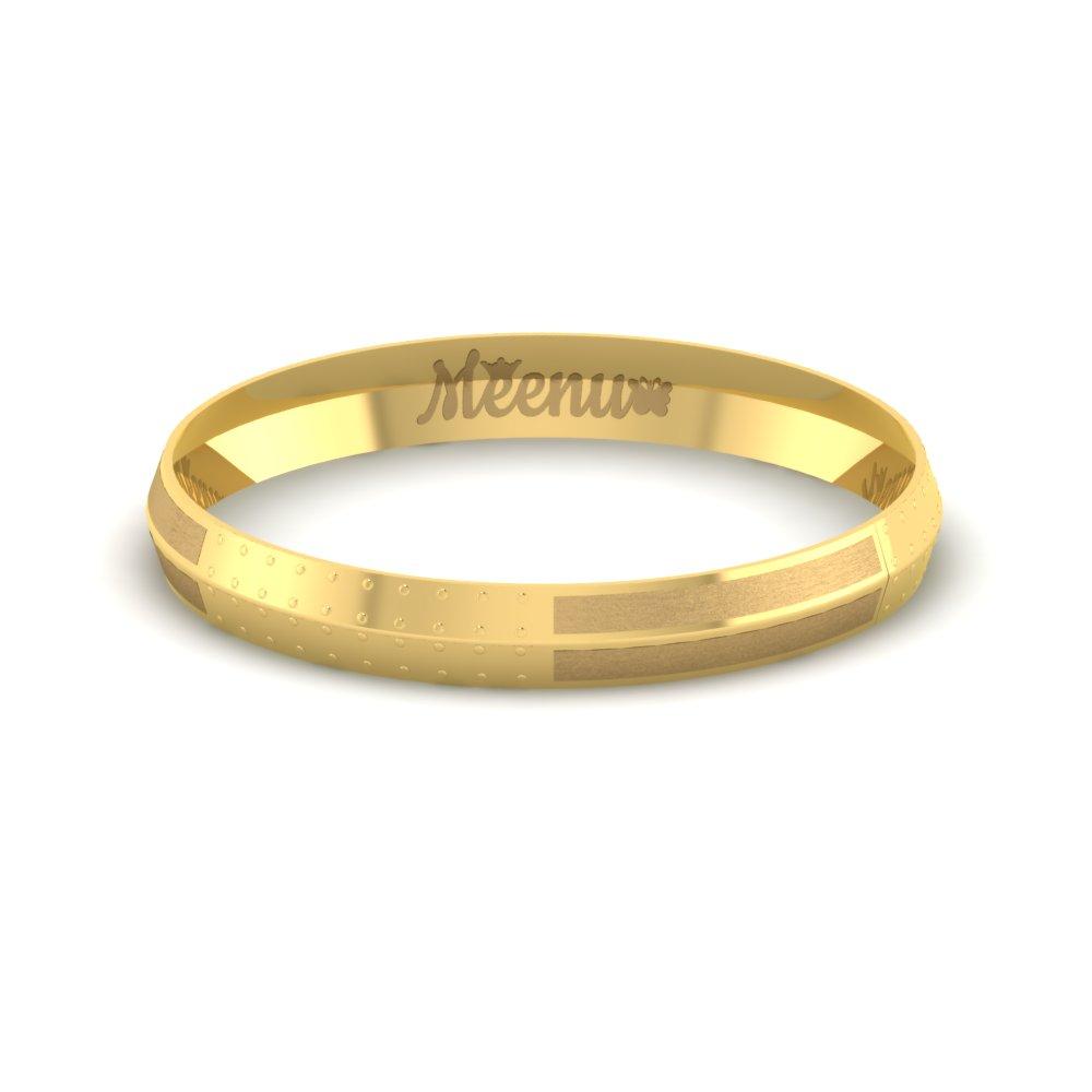 Stylish Gold Kada For Mens