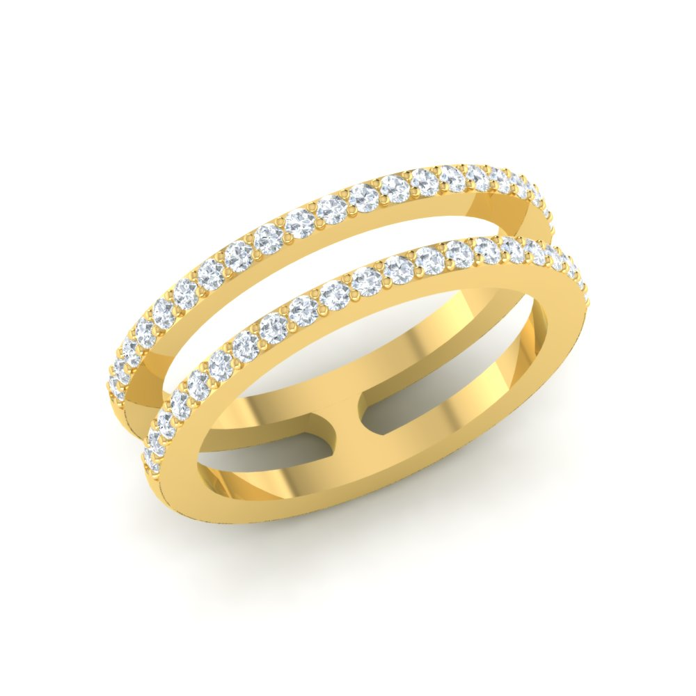 Custom Wedding Finger Rings Set