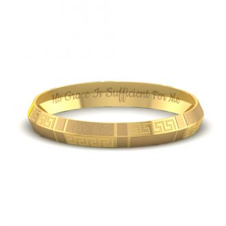 Buy Personalized Gold Bracelets Online India With Latest Designs