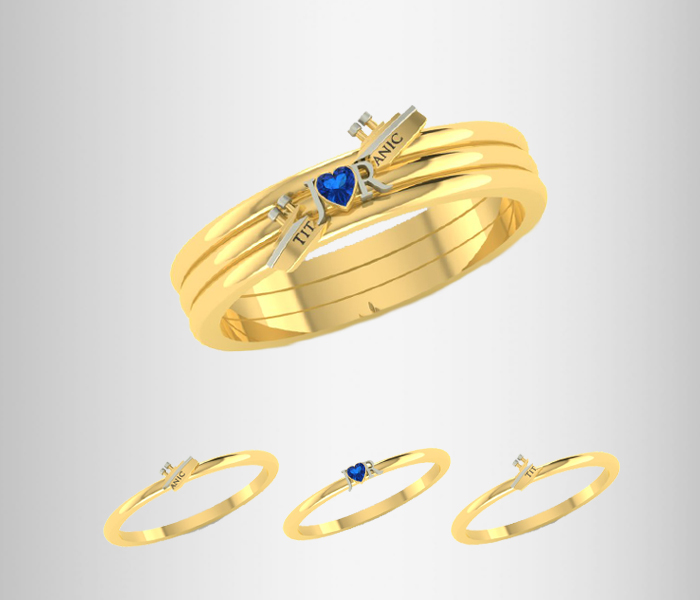 Jack And Rose Stacking Rings