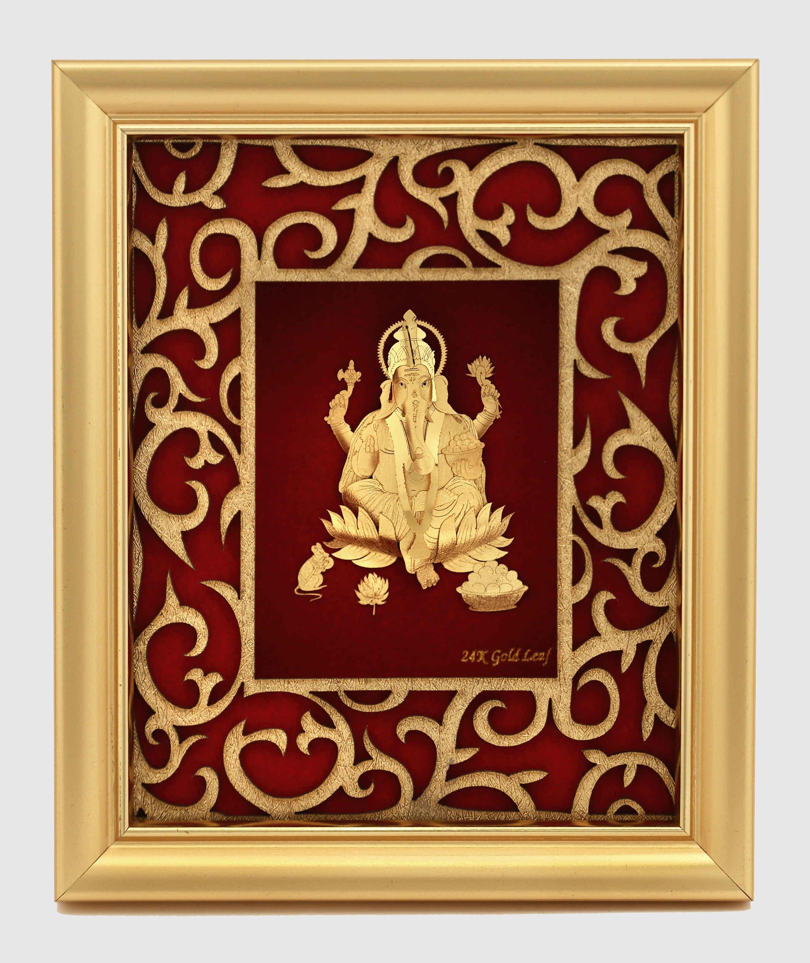 2290d202c006 24k Gold Leaf Photo Frame - Image Decor and Frame Worldwebresource.Org