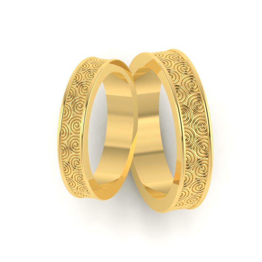 Circle pattern custom wedding ring circle pattern custom wedding ring ring junglespirit Gallery