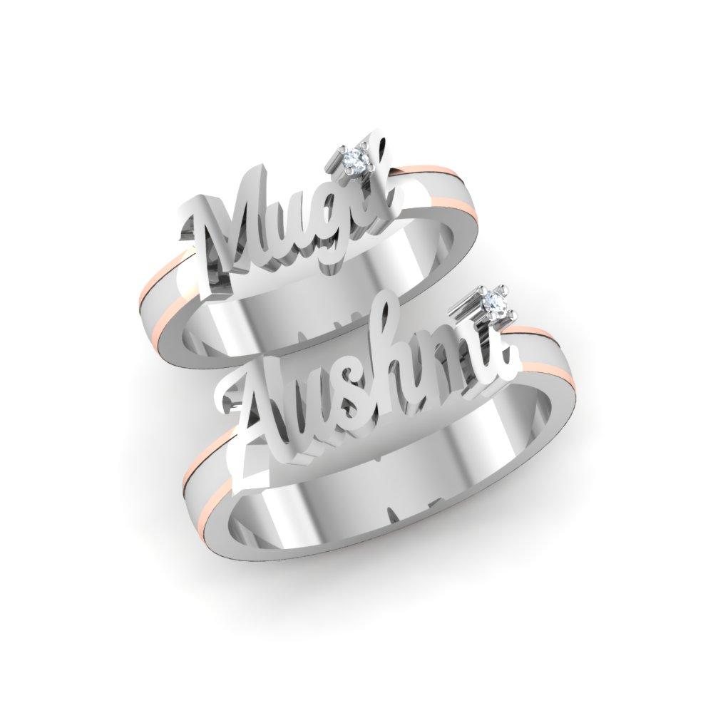 Buy Platinum Ring - Platinum Couple Rings Online
