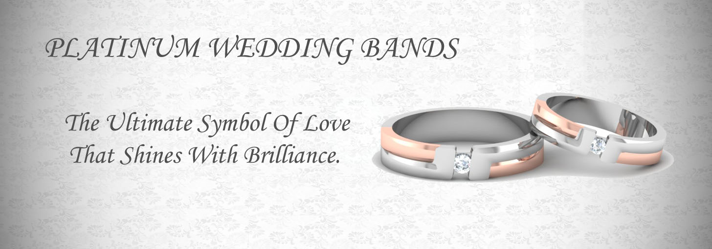 Platinum Bands For Couple Platinum Wedding Rings