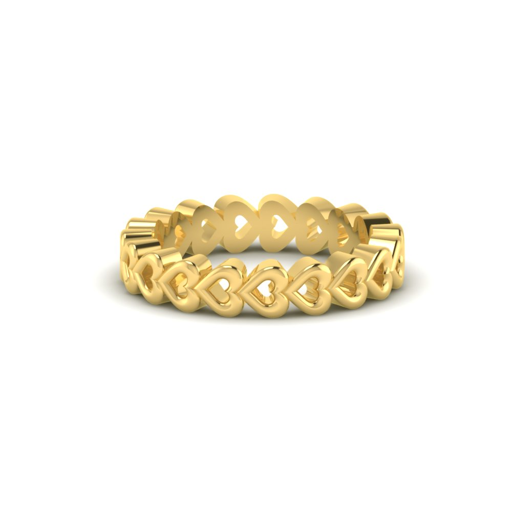 d9282afb4fb04 Personalized Series Heart Gold Ring
