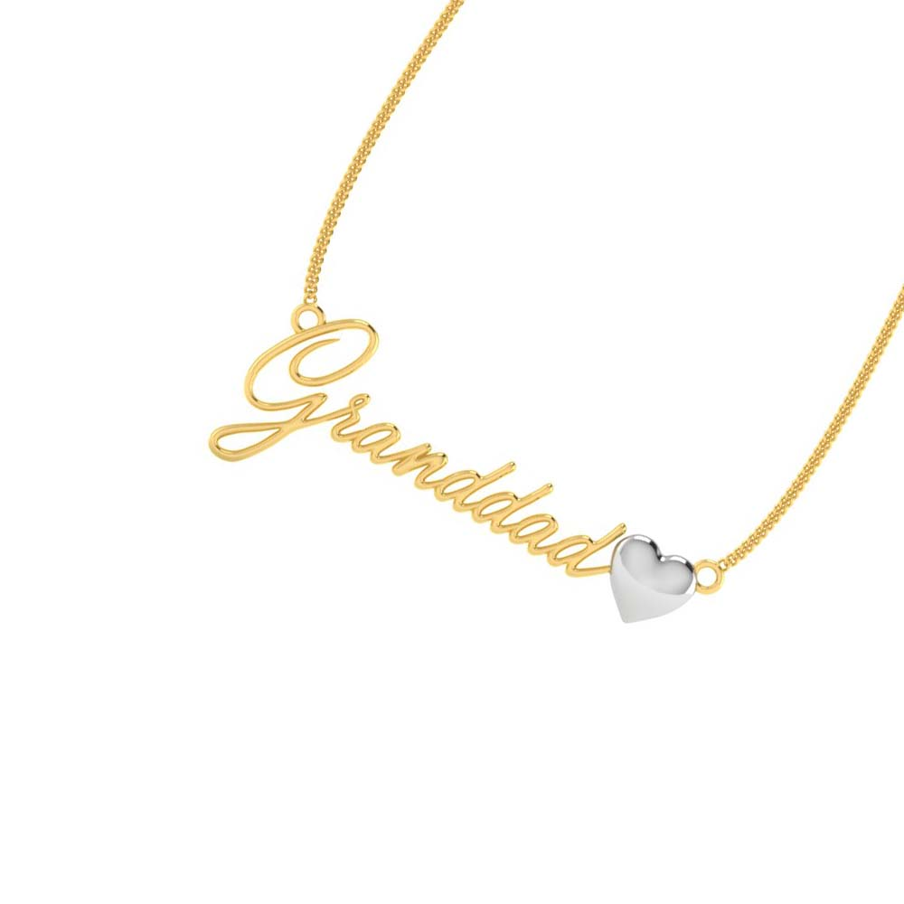 Simple Name Necklace Pendant