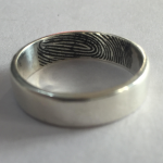 Silver Rings With name Engraved