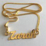 Zarah Name Pendant