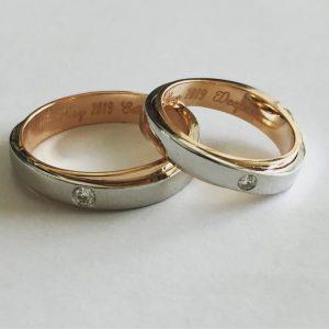 Fusion Platinum Rings