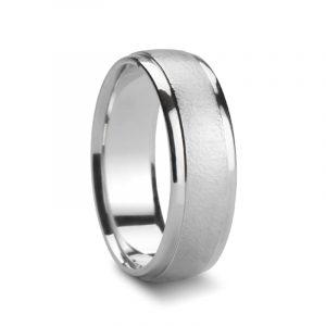 Spray Dull Platinum Rings