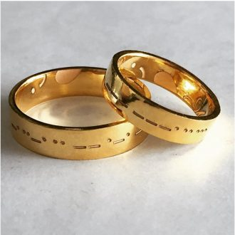 Love-In-Morse-Code-Gold-Couple-Rings1