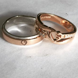 Shop Personalized Gold Rings For Wedding And Engagement For Indian