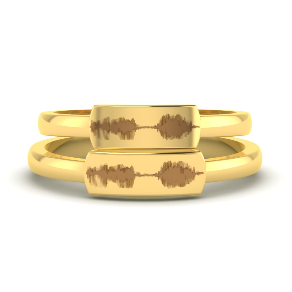 Sounds Of Love Proposal Gold Rings1.jpg