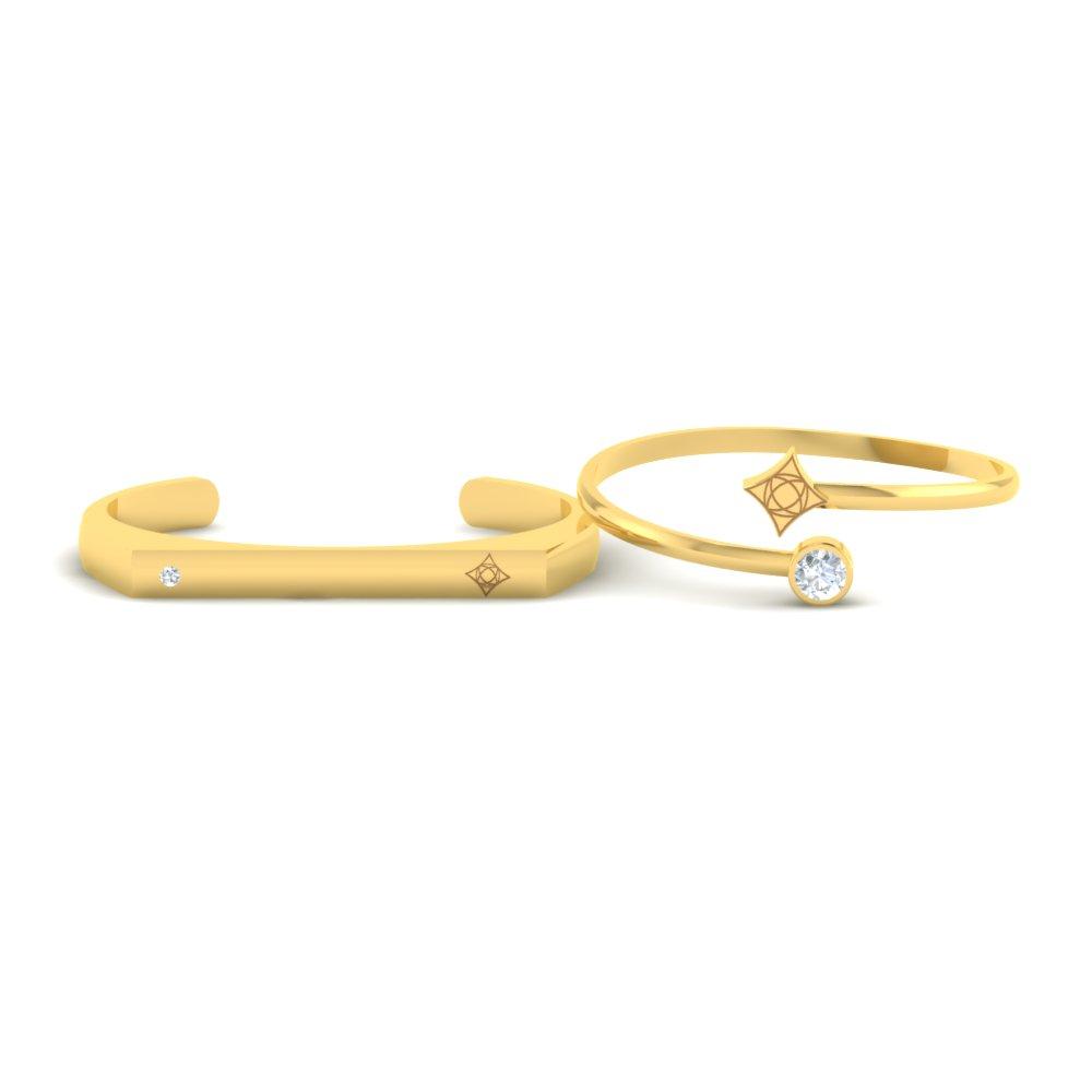 Classy-Open-Gold-Couple-Cuff-Bracelets1jpg