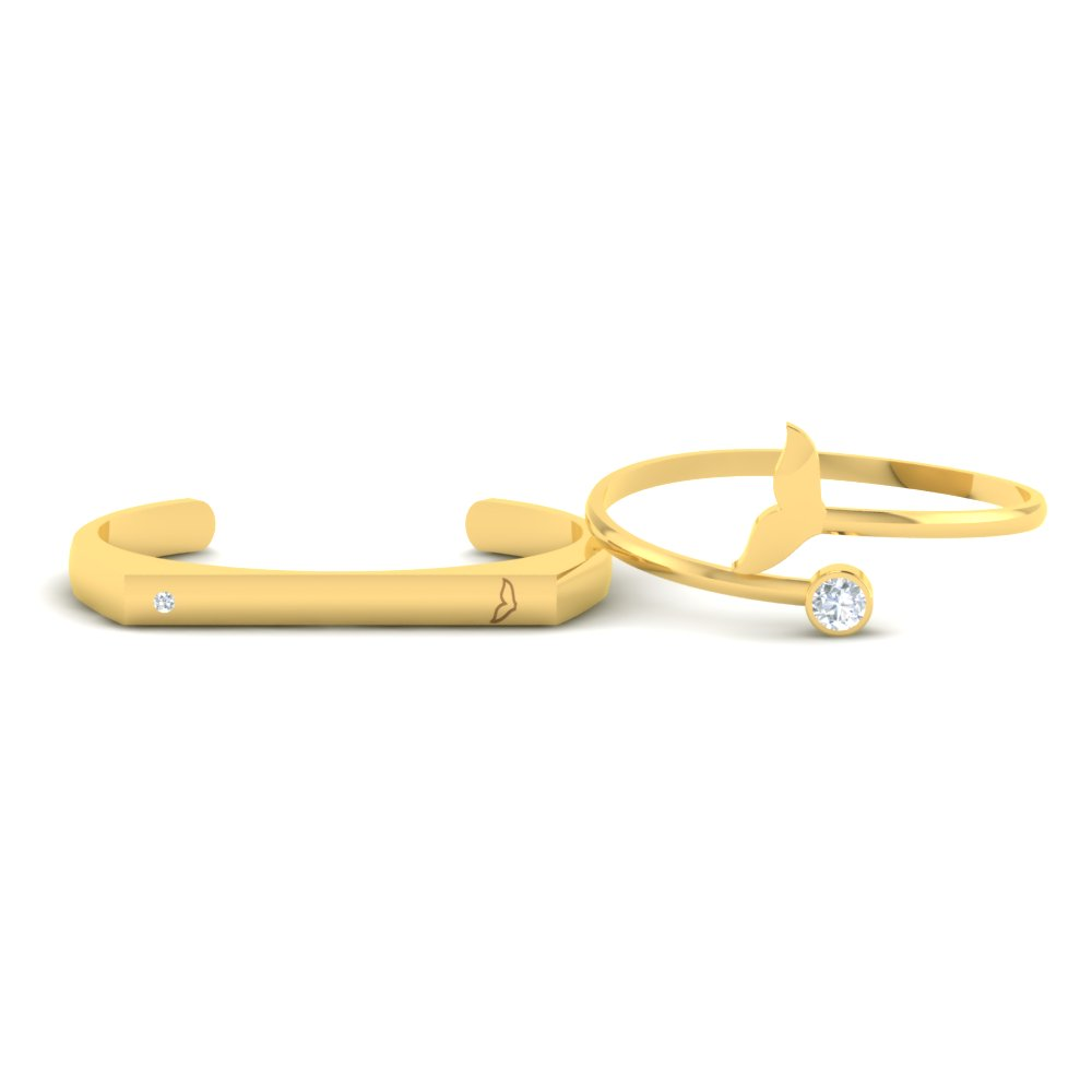 Fishy-Tail-Gold-Couple-Cuff-Bracelets1.jpg