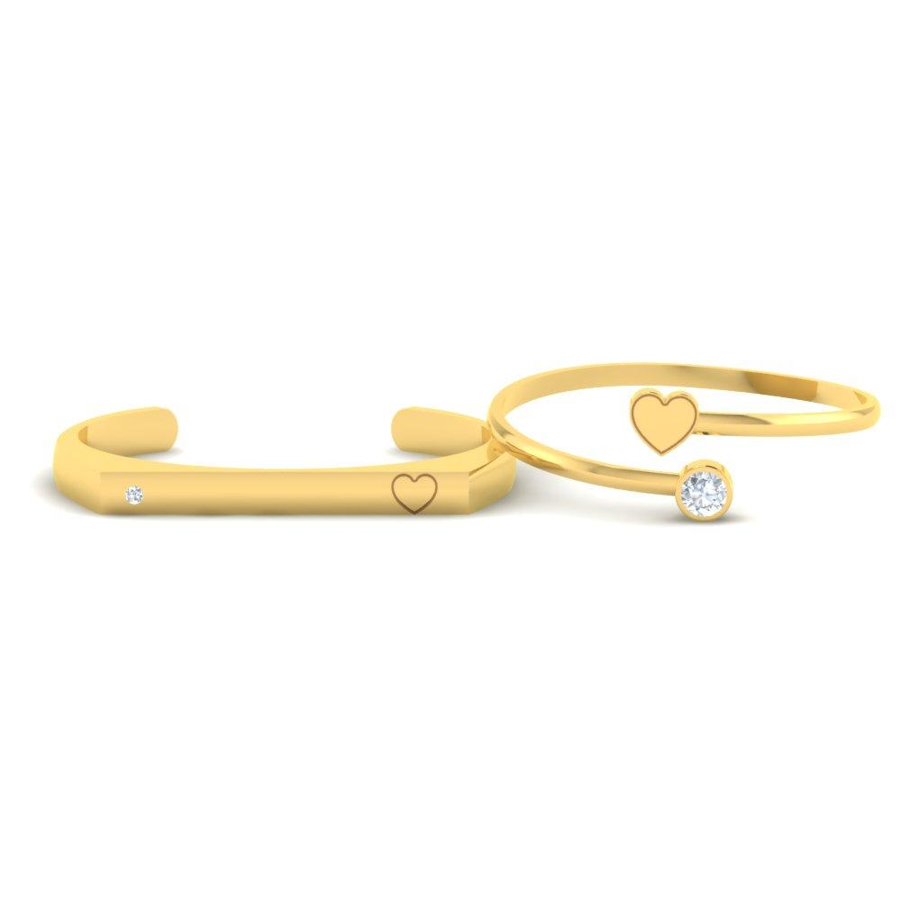 Open-Heart-Gold-Couple-Cuff-Bracelets1.jpg