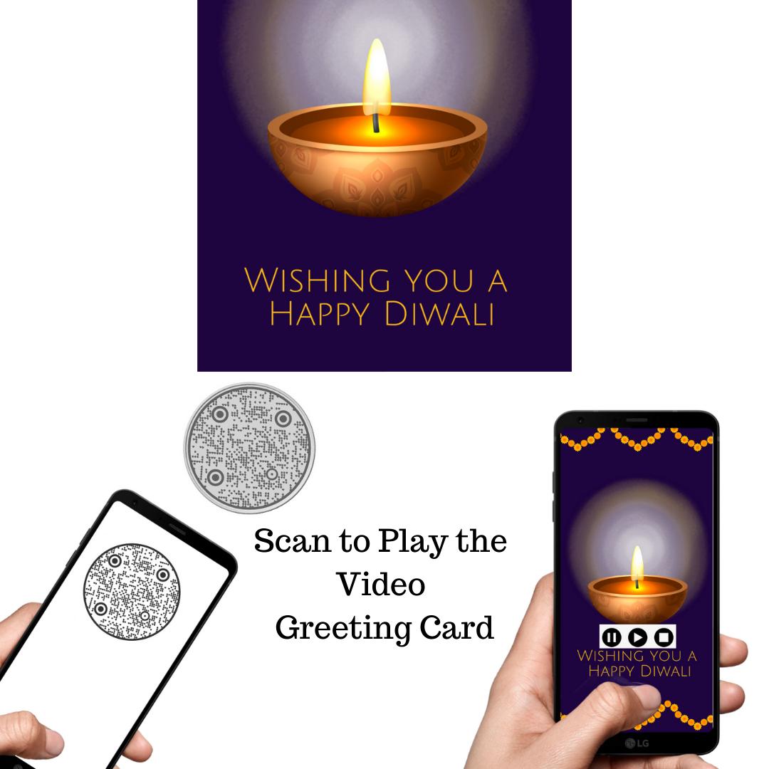 Royal-Silver-Coin-QR-Code-Greeting-Diwali-Card