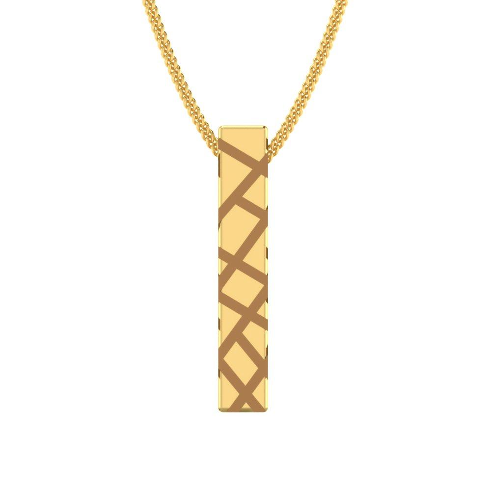 Pattern-Engraved-Gold-Bar-Pendant1